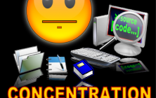 konsentrasi belajar anak