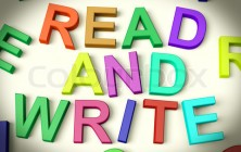 Read And Write Written In Kids Letters