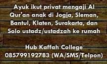 bimbel privat Iqro dan Al Qur'an Jogja